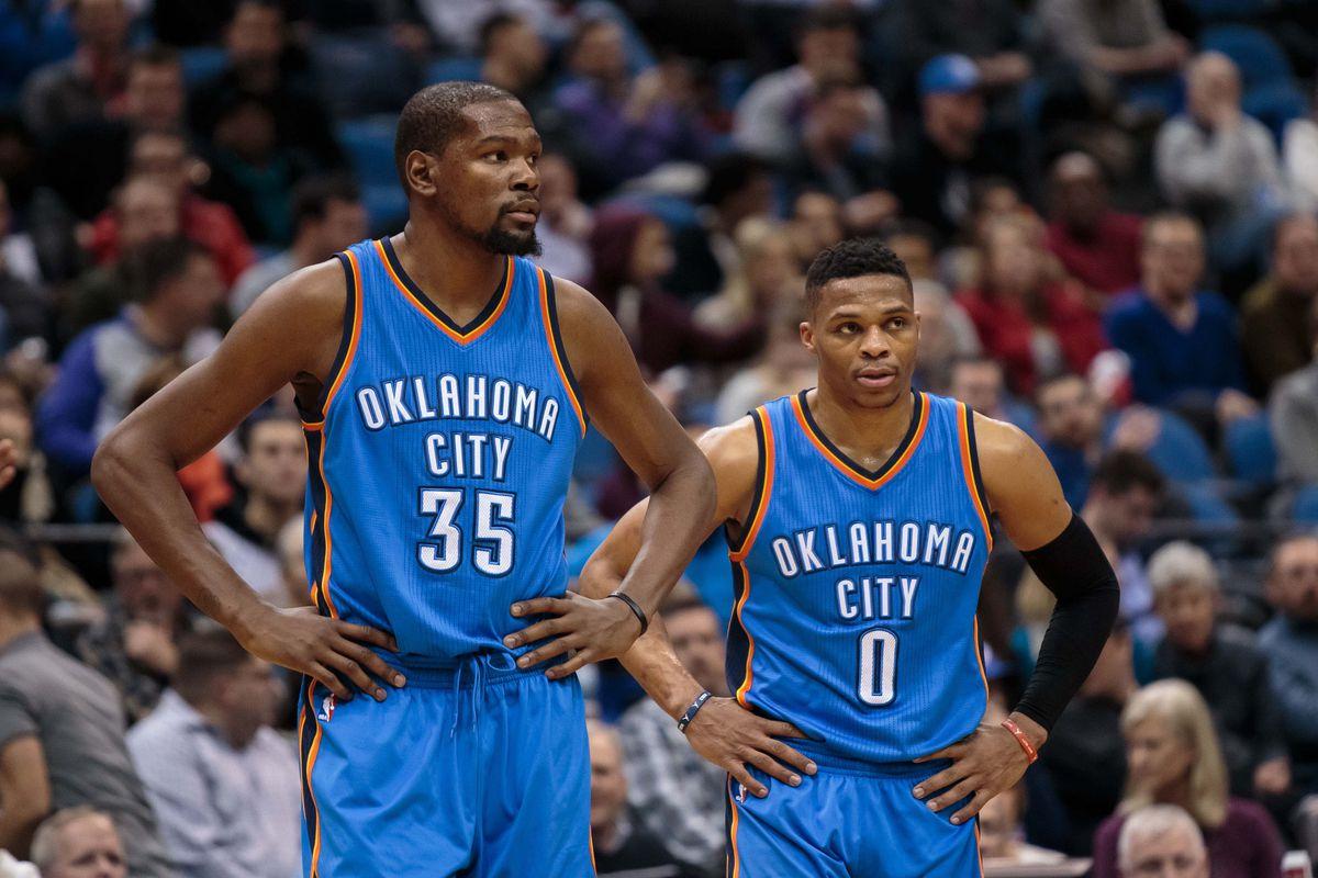 Durant e Westbrook
