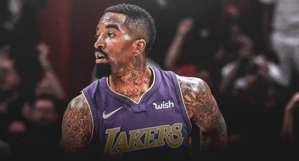 JR Smith in maglia Lakers