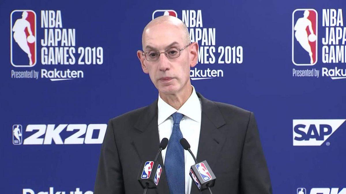 Adam Silver Commissioner della NBA