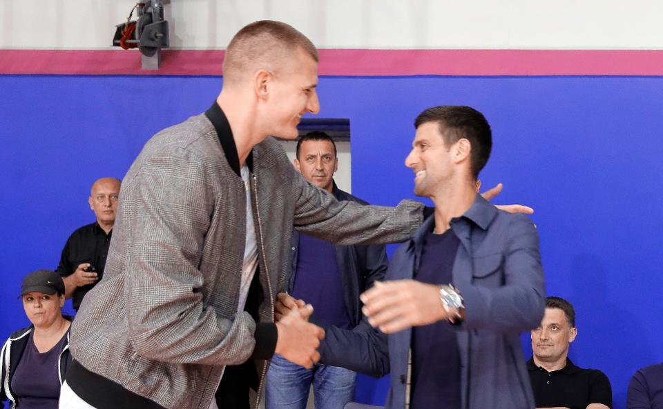 Jokic e Djokovic