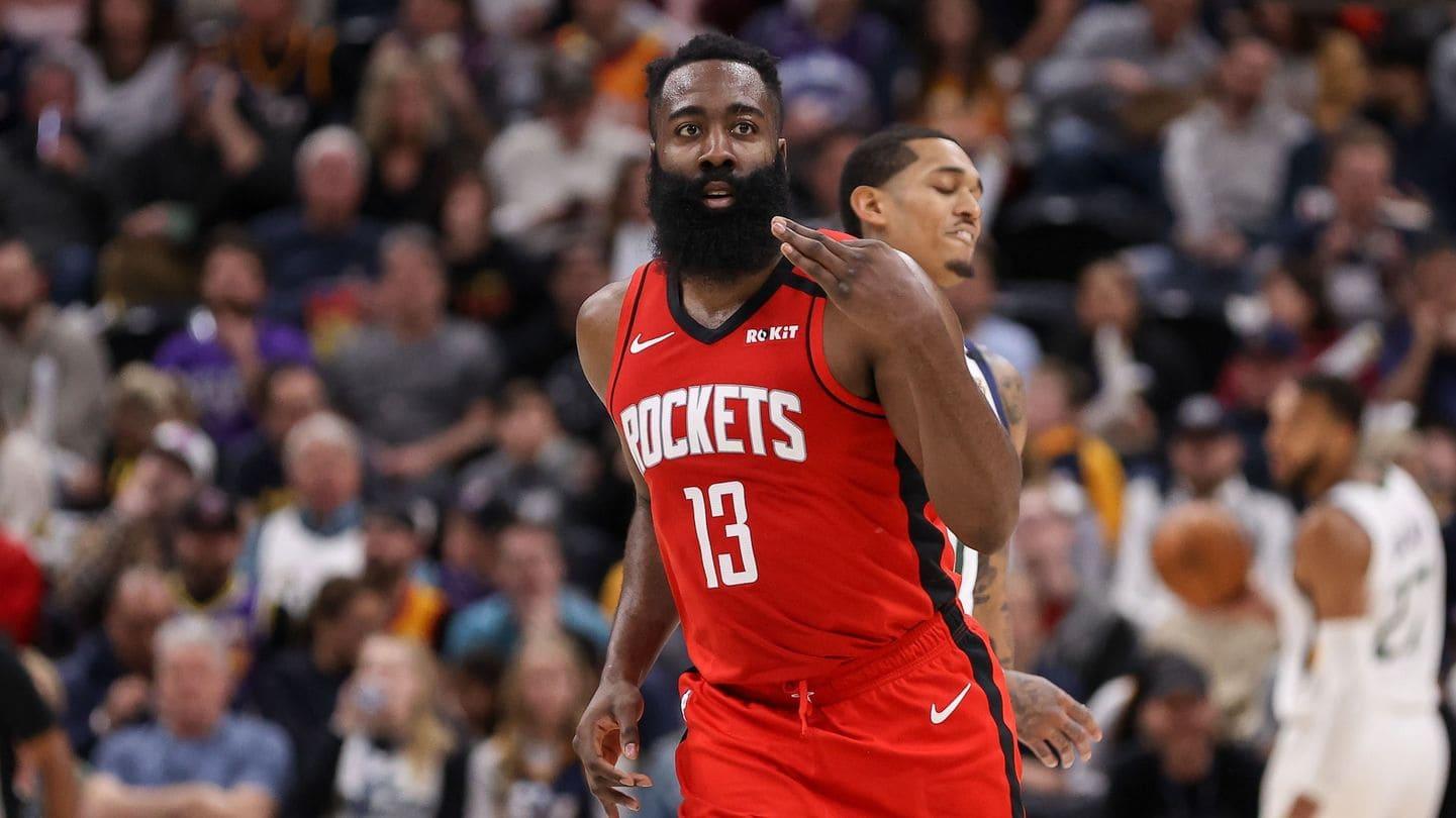 Harden in azione coi Rockets