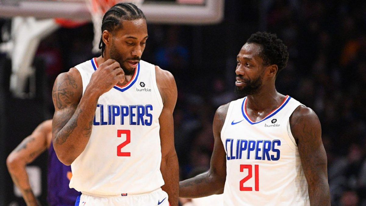 Patrick Beverley Guardia dei Clippers