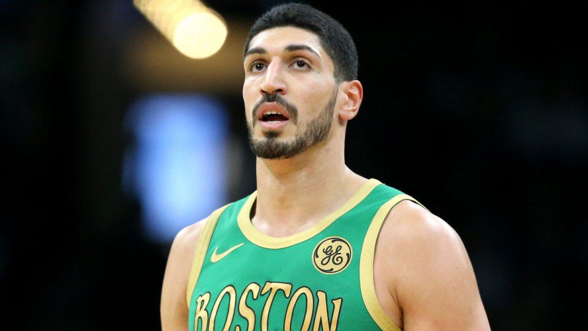 Kanter in maglia Celtics