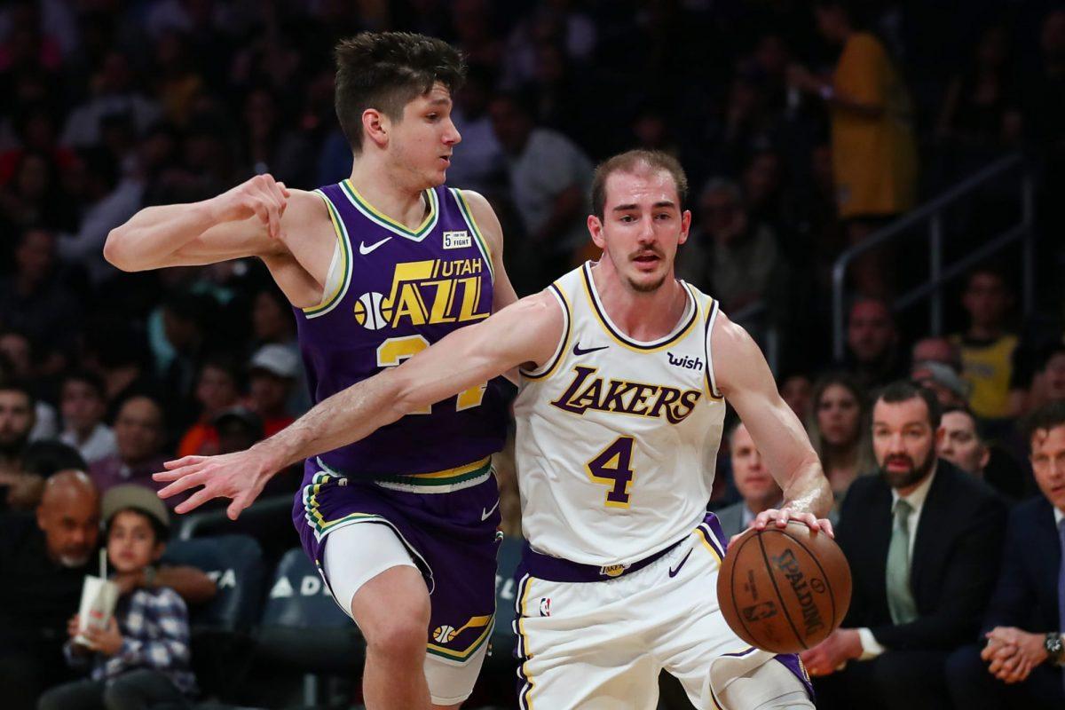 Alex Caruso Guardia dei Lakers