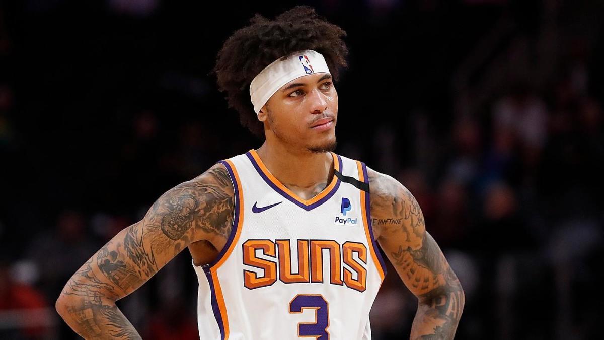 Kelly Oubre con la maglia dei Phoenix Suns