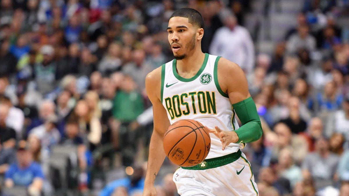 Tatum in maglia Celtics