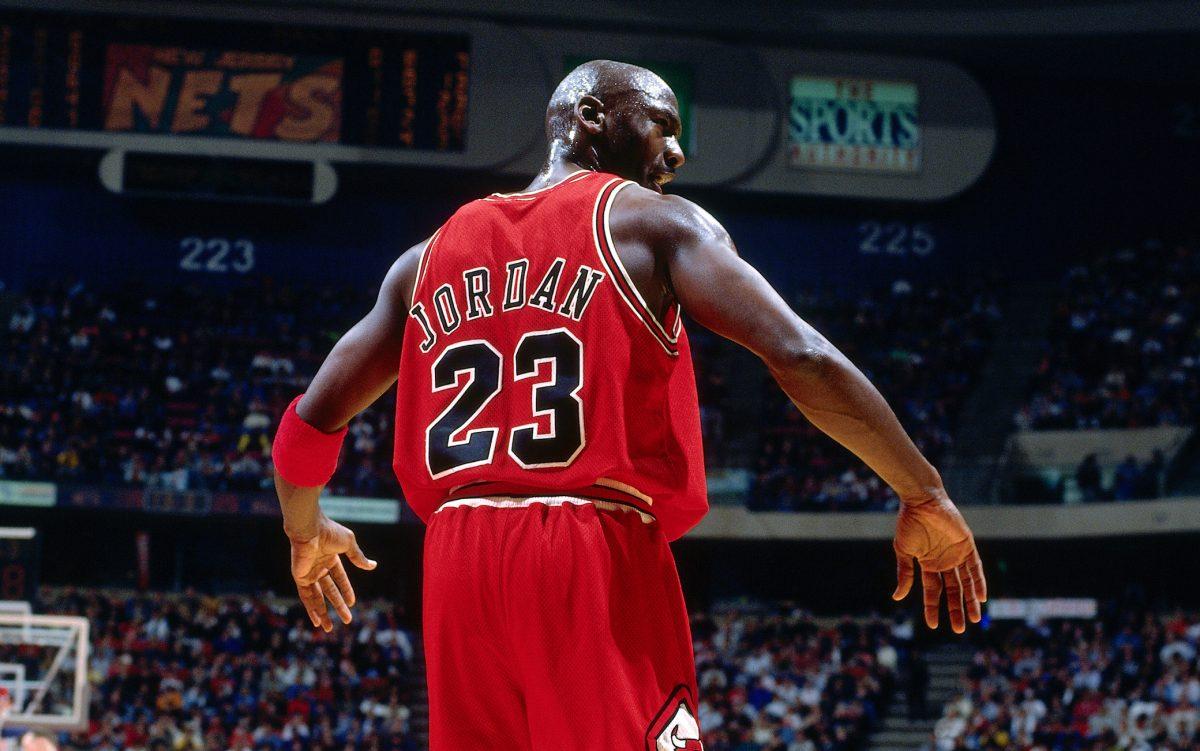 Jordan in azione coi Bulls