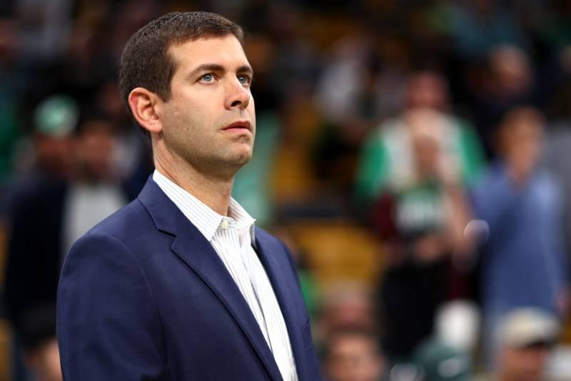 Brad Stevens sulla panchina dei Celtics