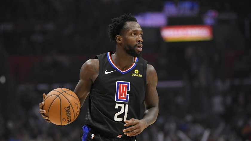 Patrick Beverley in maglia Clippers