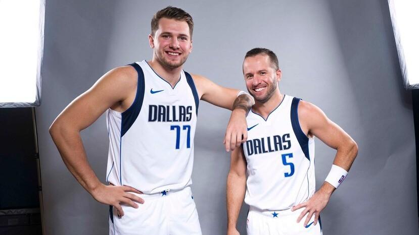 Doncic e Barea, compagni di squadra ai Dallas Mavericks