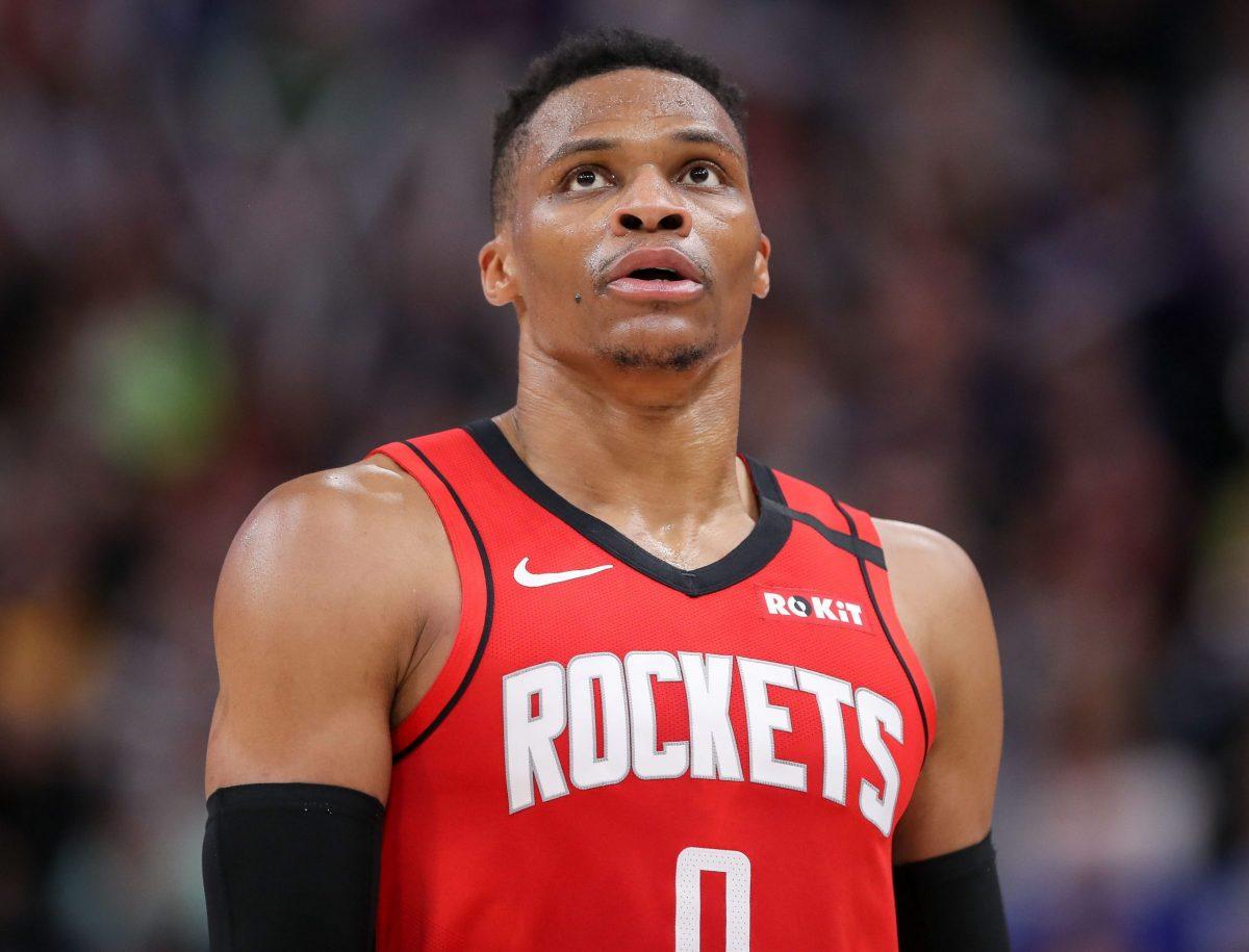 Westbrook Guardia dei Rockets