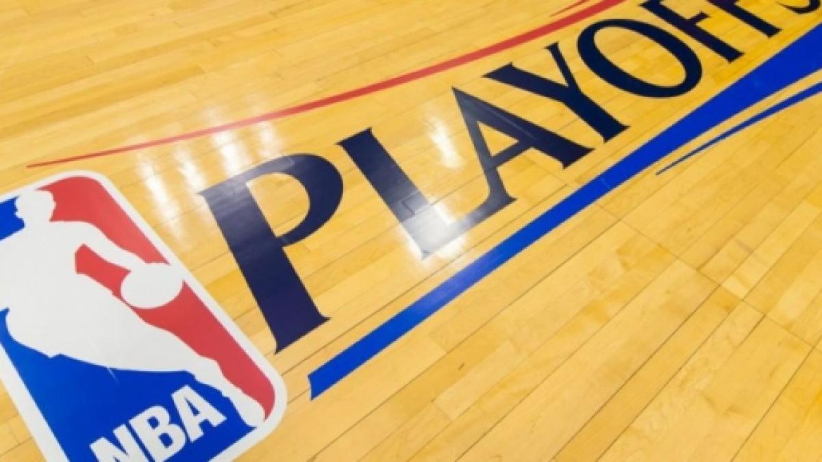 Il logo dei Playoff NBA