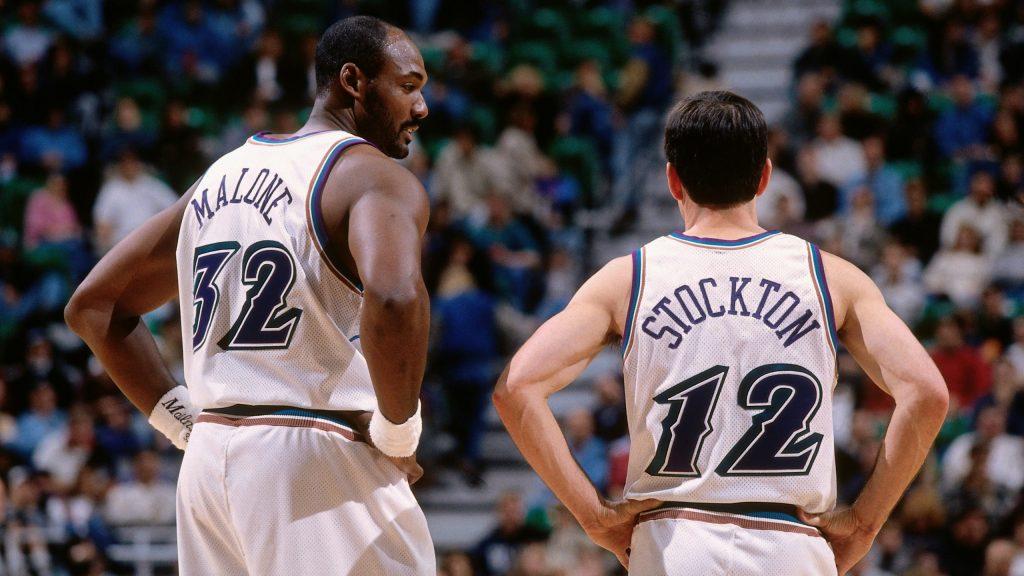 Malone e Stockton