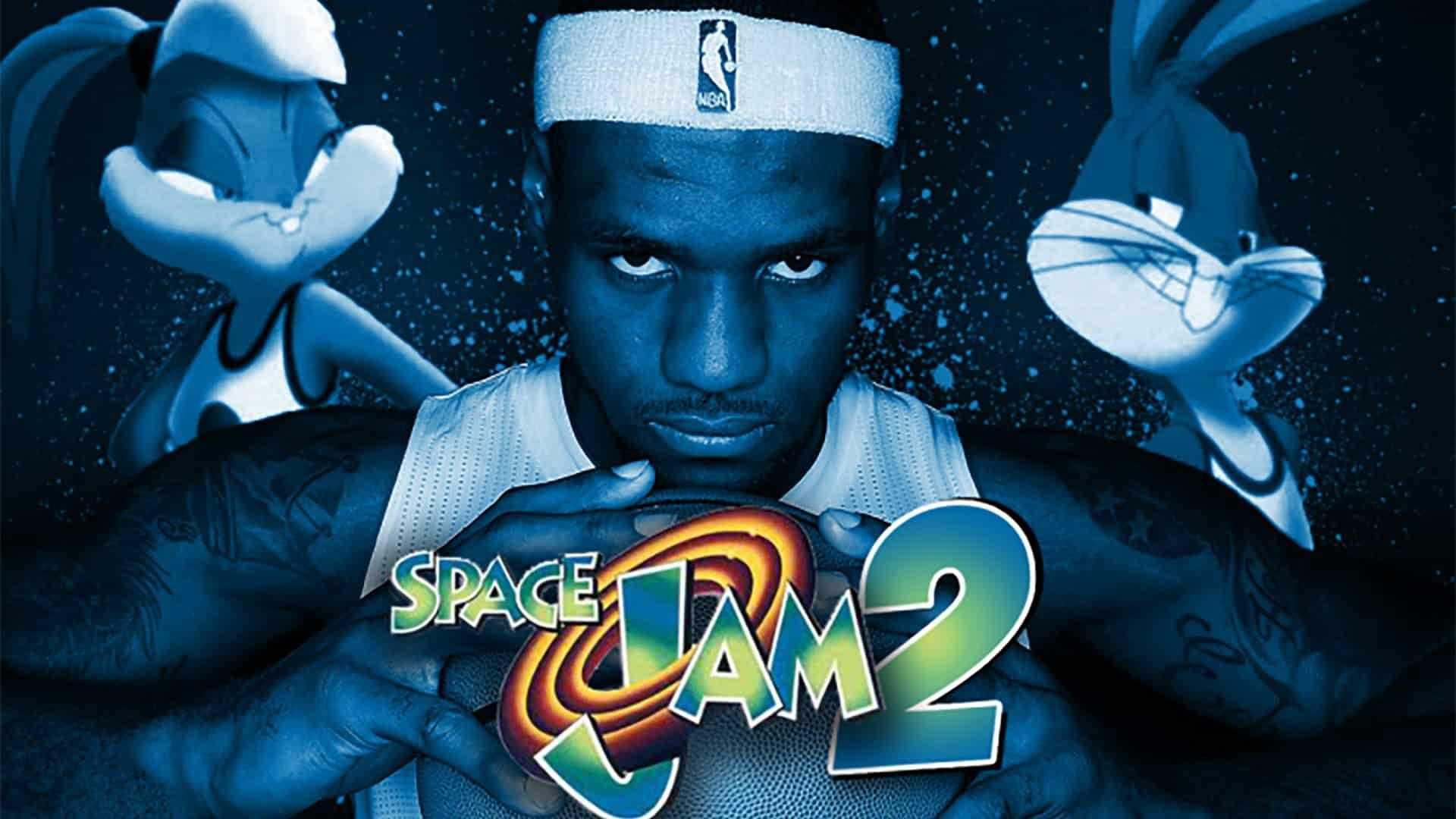 LeBron James sulla copertina di Space Jam 2