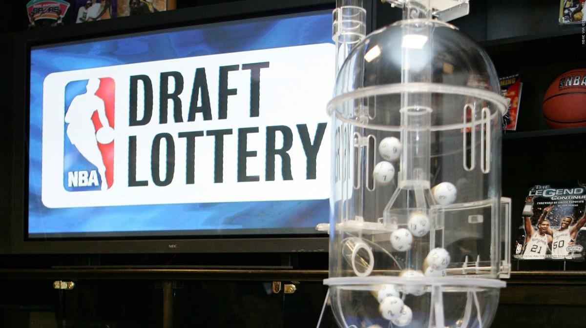 I risultati della Draft Lottery