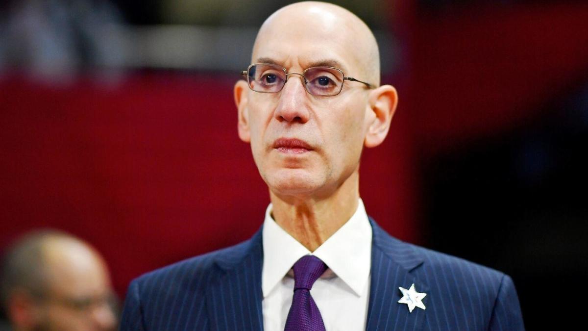 Il commissioner NBA Adam Silver