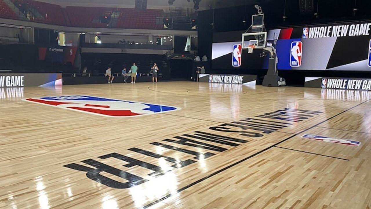 Il campo NBA nella bolla di Orlando