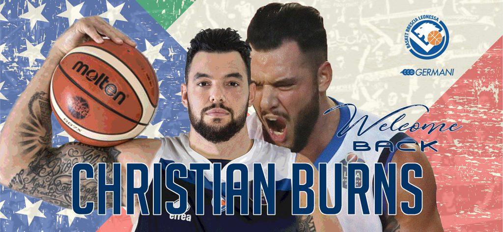 Christian Burns torna tra le fila di Brescia