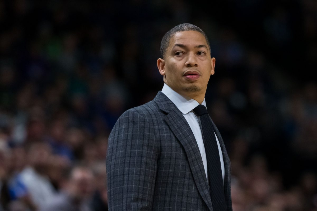 Ty Lue in panchina