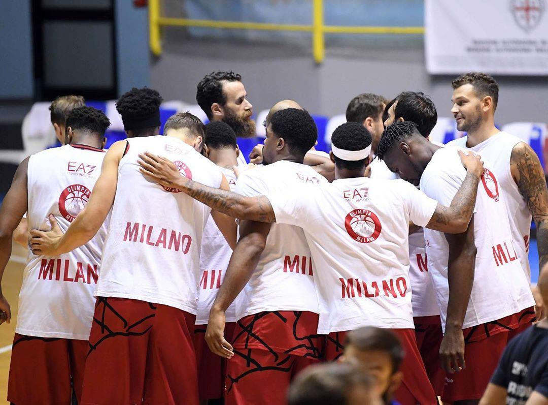 Caso di sospetta positività nel gruppo squadra dell'Olimpia Milano