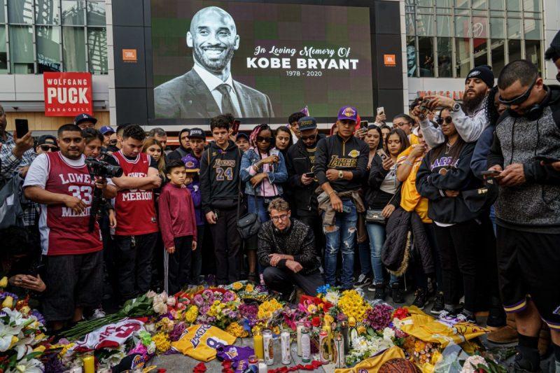 Staples Center Kobe