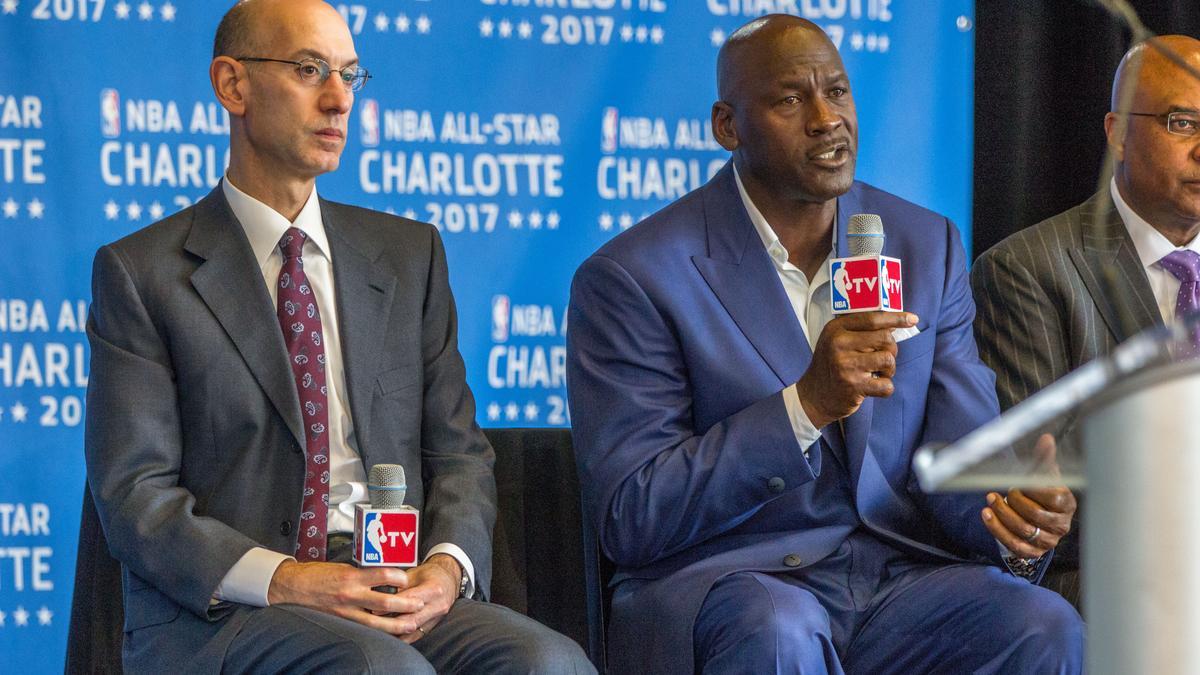 Michael Jordan agisce da intermediario