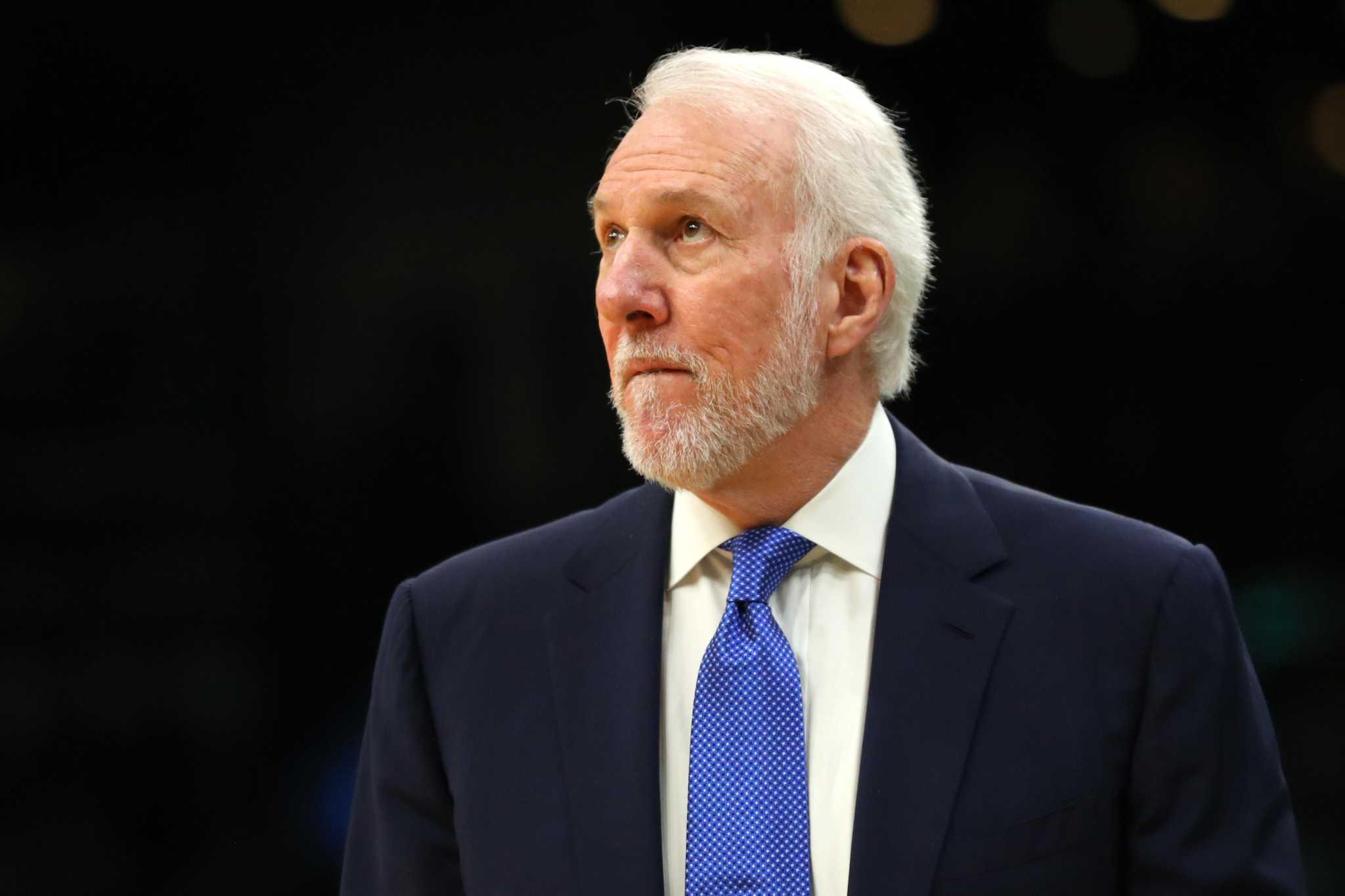 Popovich sulla panchina degli Spurs