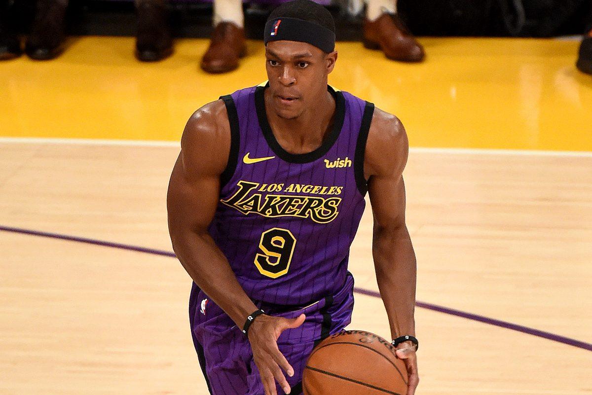 Rondo Guardia dei Lakers
