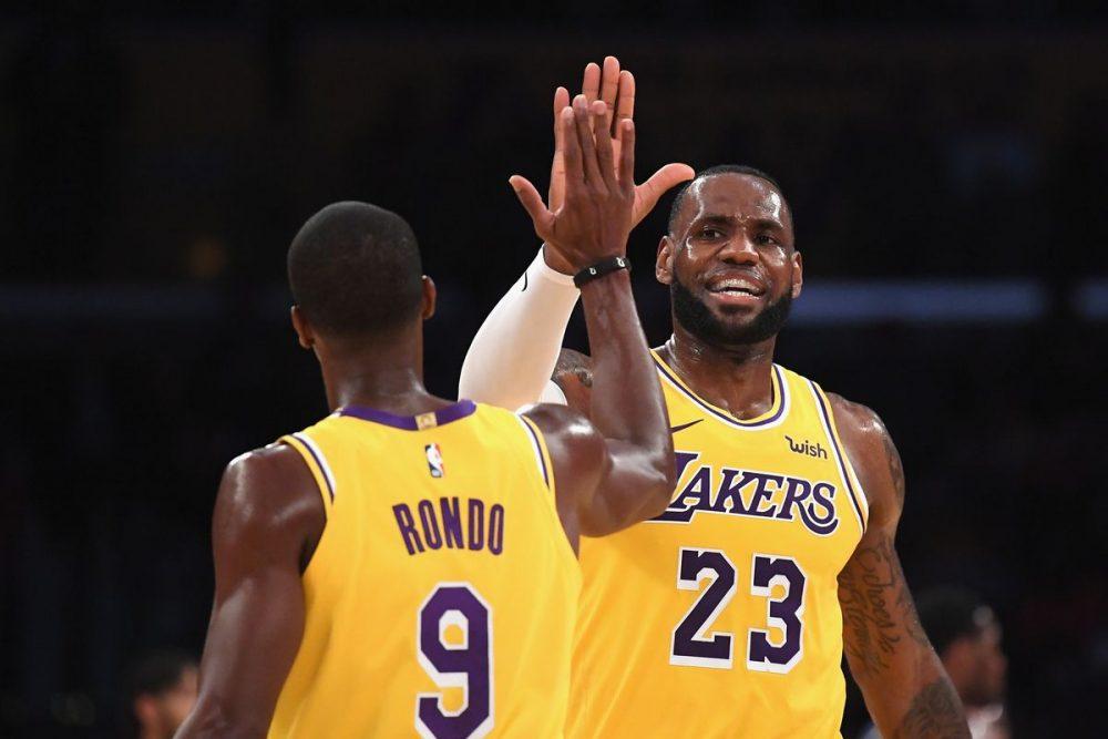 James commenta la gara dei Lakers e di Rondo