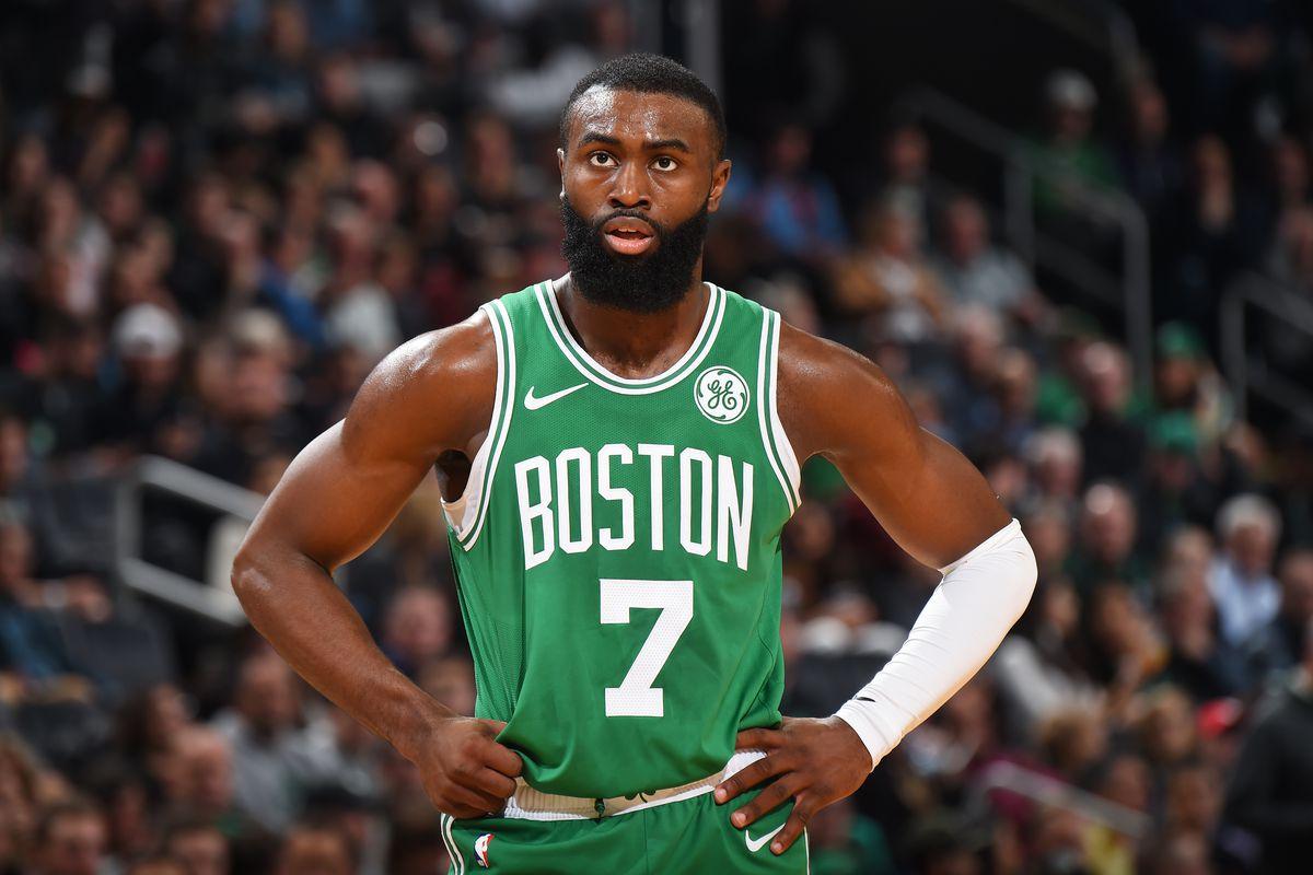 Brown in azione coi Celtics
