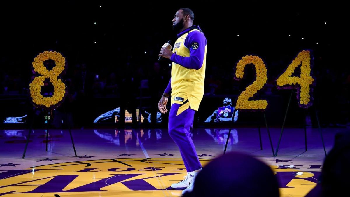 LeBron James dedica la vittoria dei Lakers a Kobe Bryant