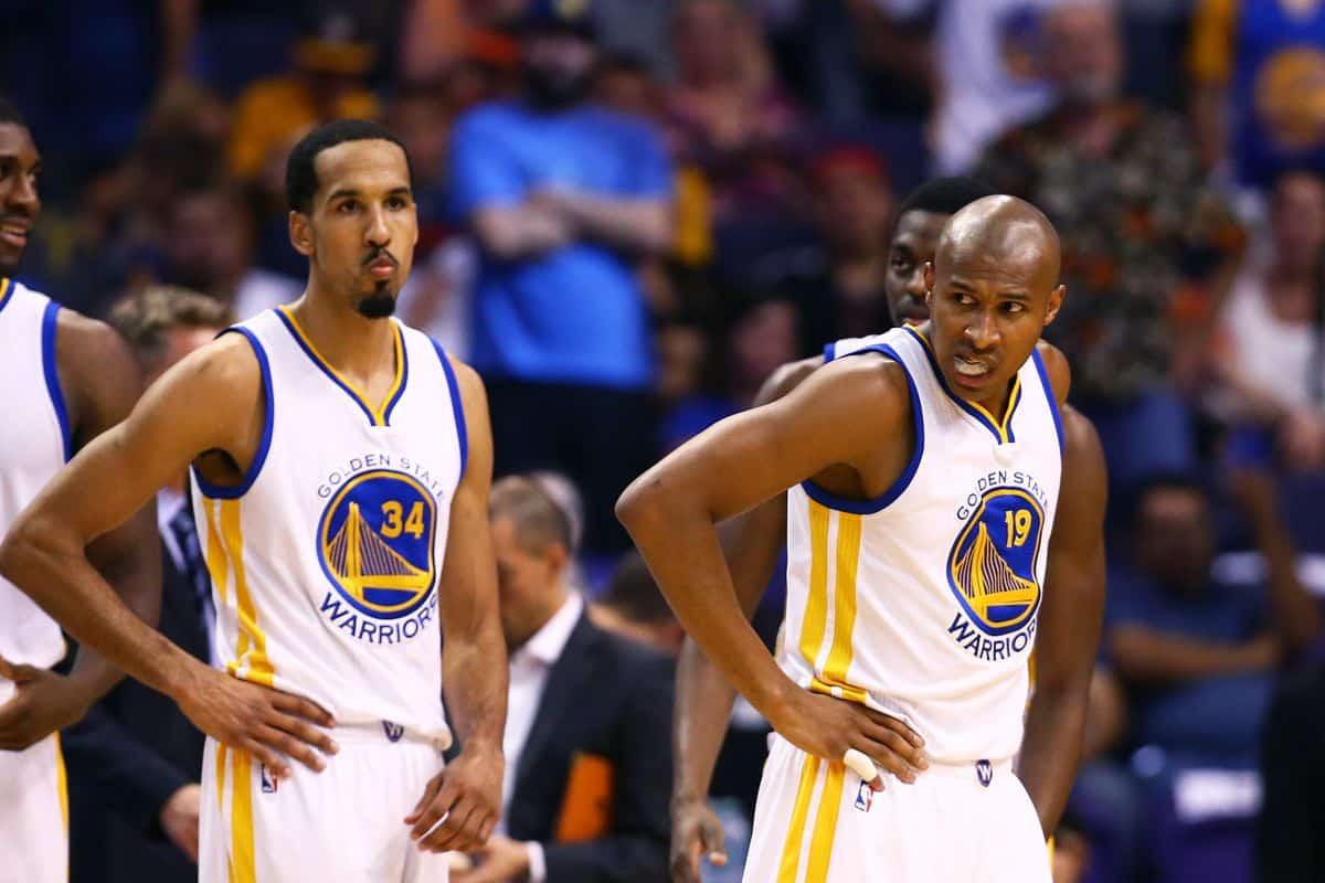 Barbosa e Livingston in maglia Warriors