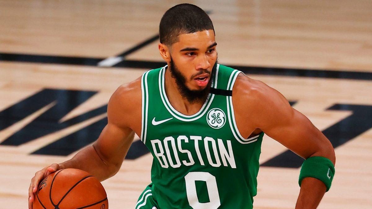 Tatum in azione coi Celtics