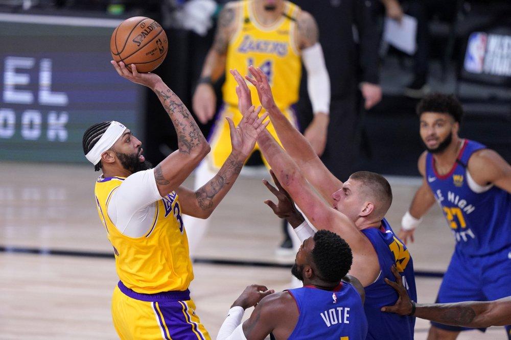 I Lakers vanno oltre i Nuggets in gara 1