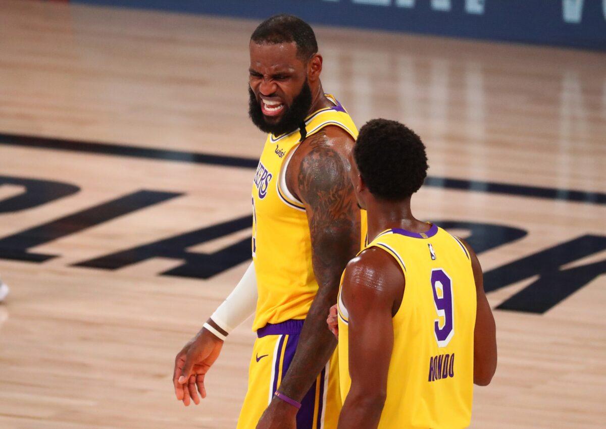 LeBron James descrive l'importanza di avere Rondo in squadra