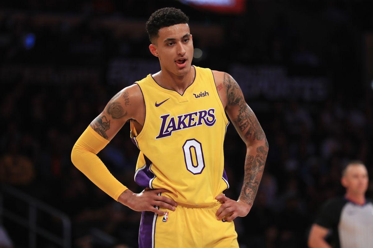 Kuzma in azione coi Lakers