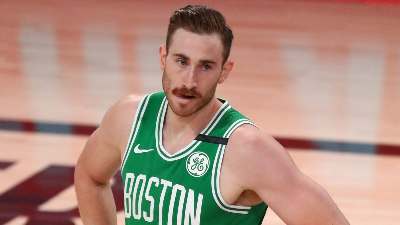 Hayward in maglia Celtics