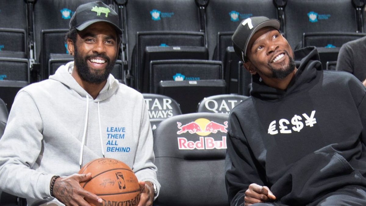 Kevin Durant e Kyrie Irving
