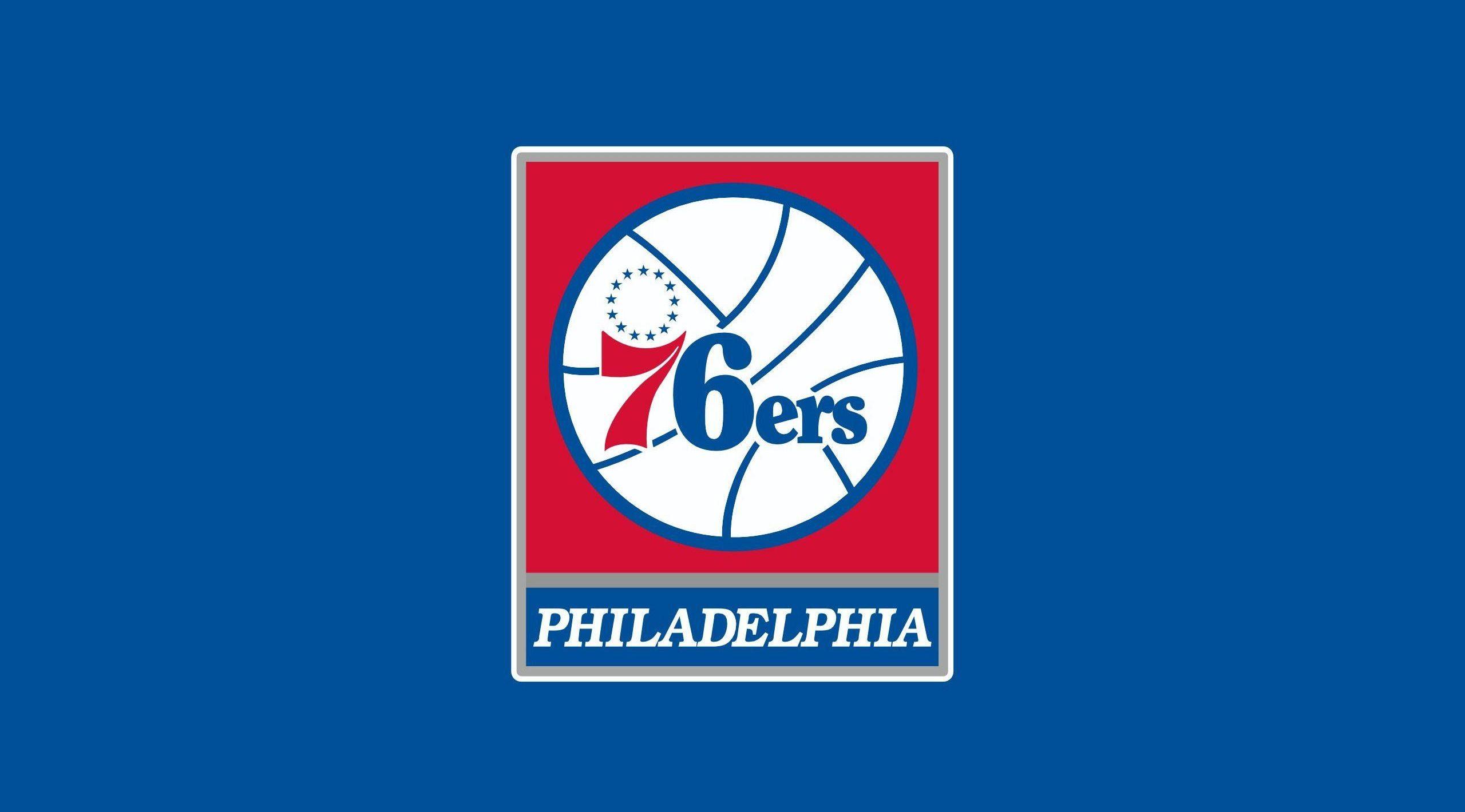 Il logo dei Sixers