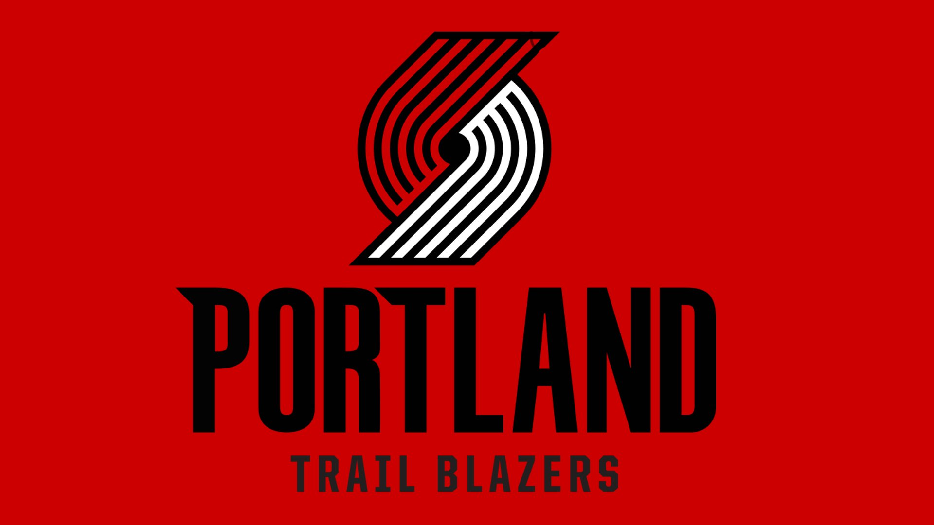 Il logo dei Blazers