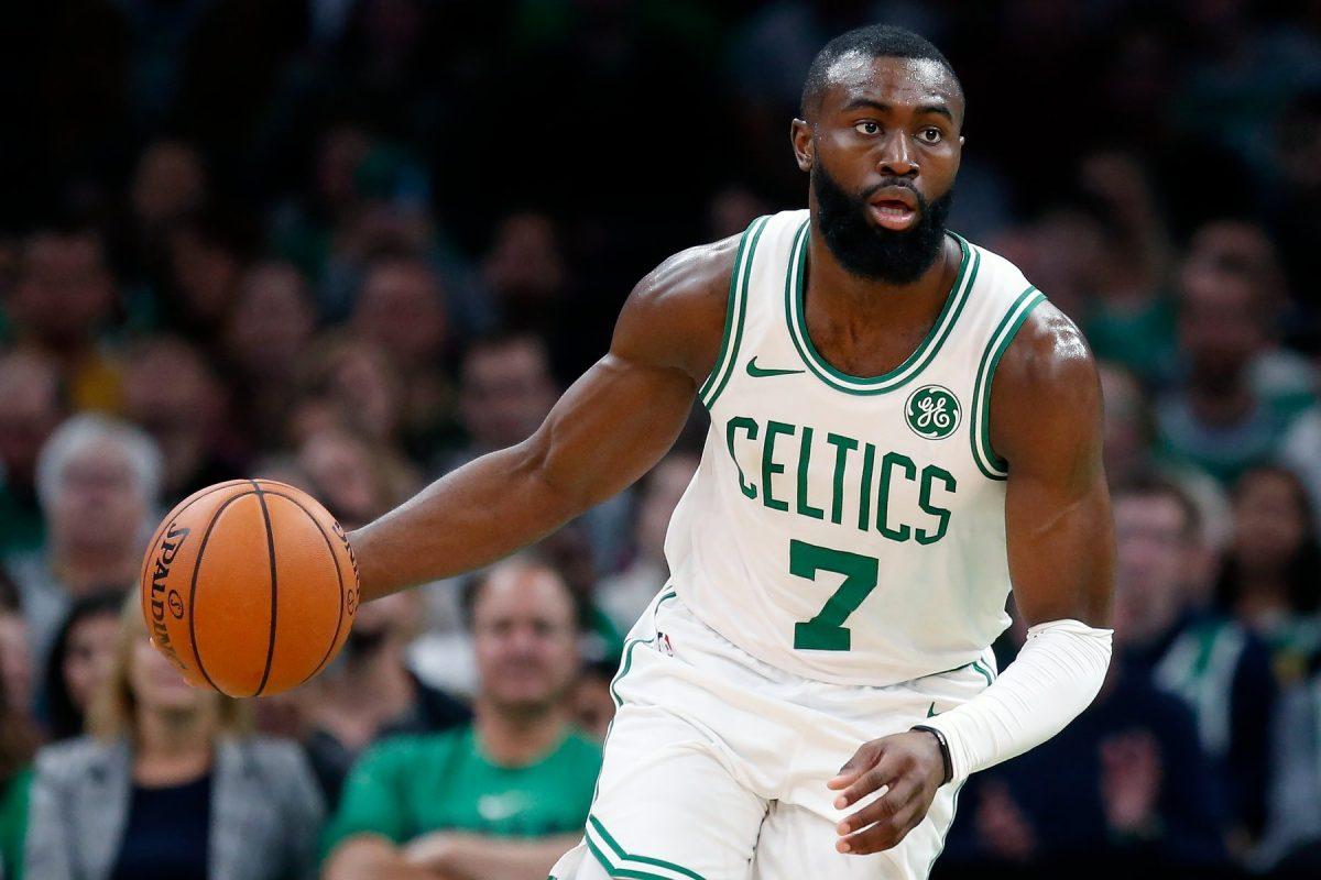 Brown Guardia dei Celtics