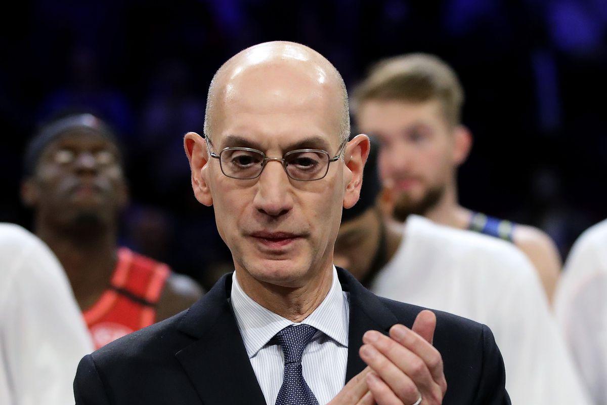 Adam Silver, commissioner della NBA
