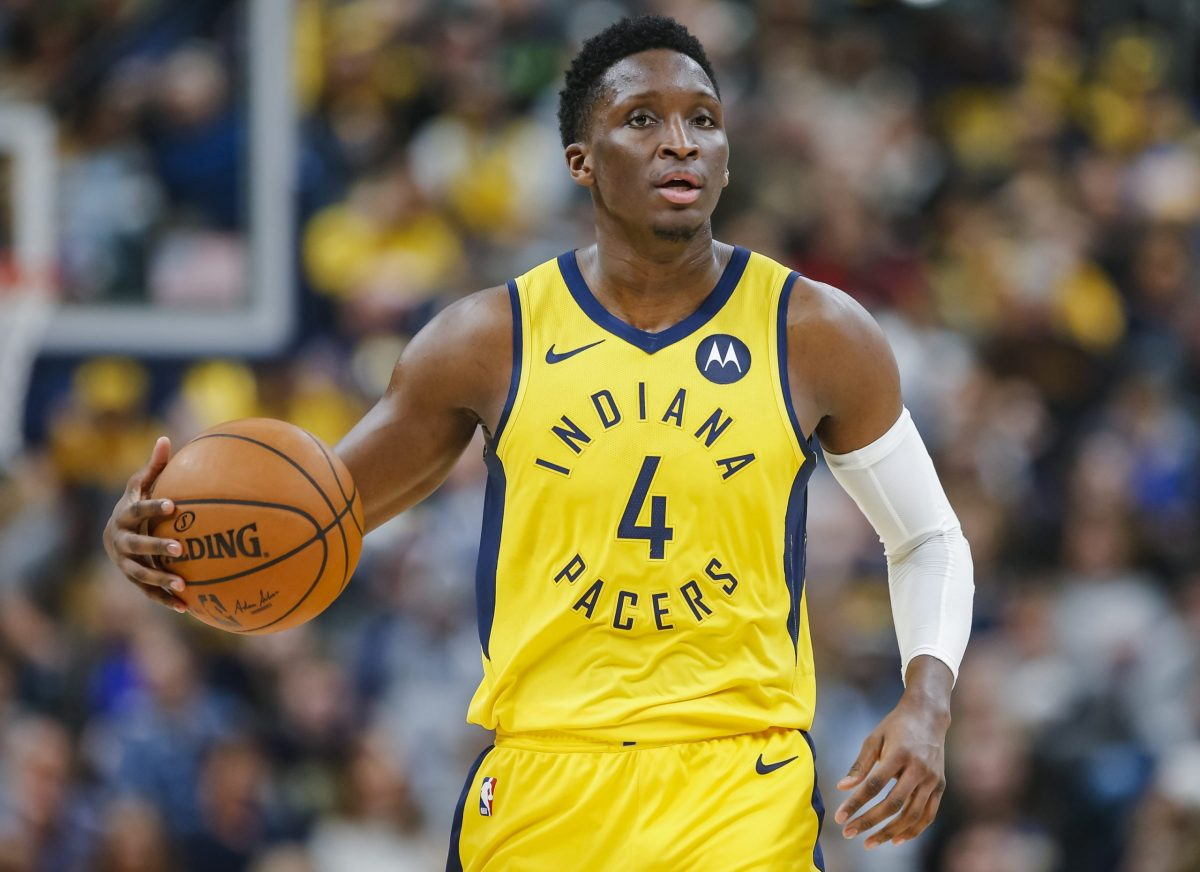 Victor Oladipo in maglia Indiana Pacers