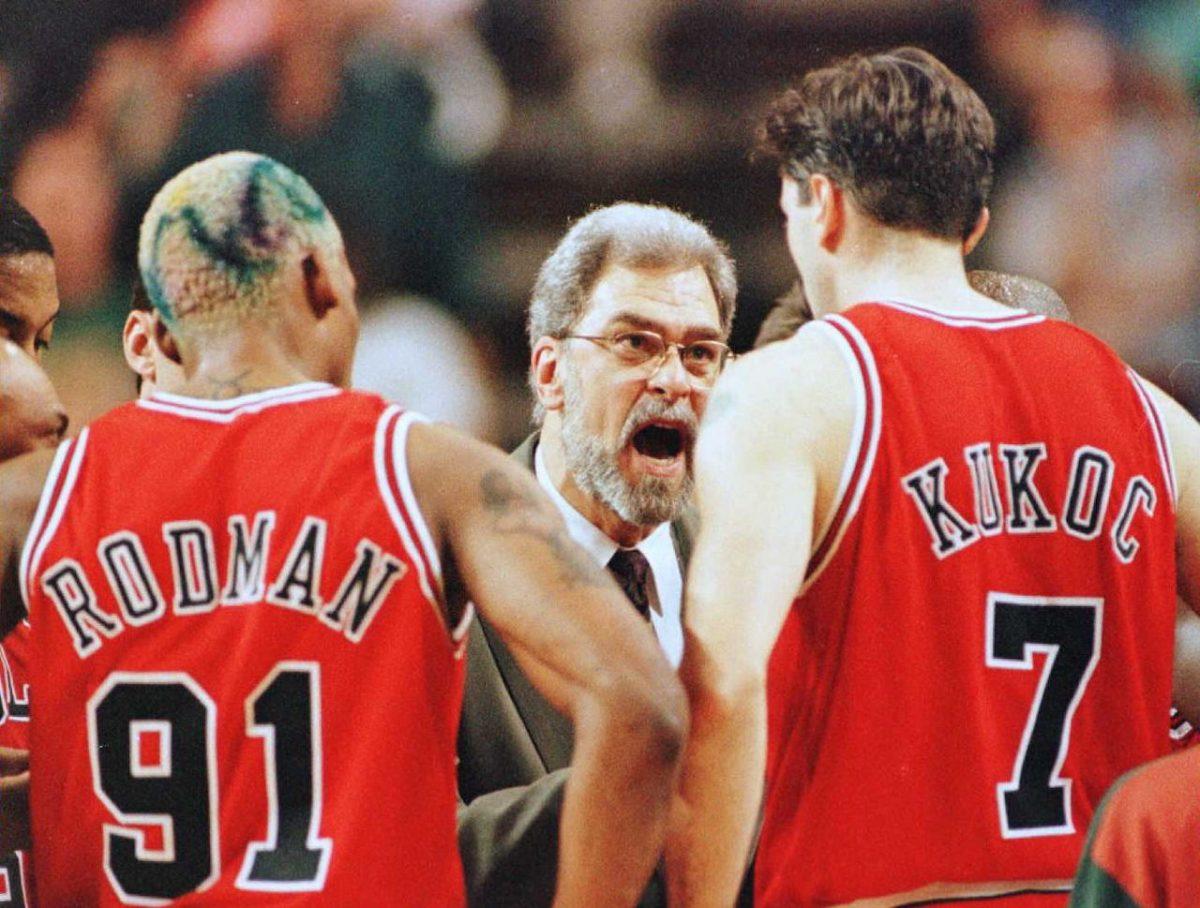 Tony Kukoc e Dennis Rodman