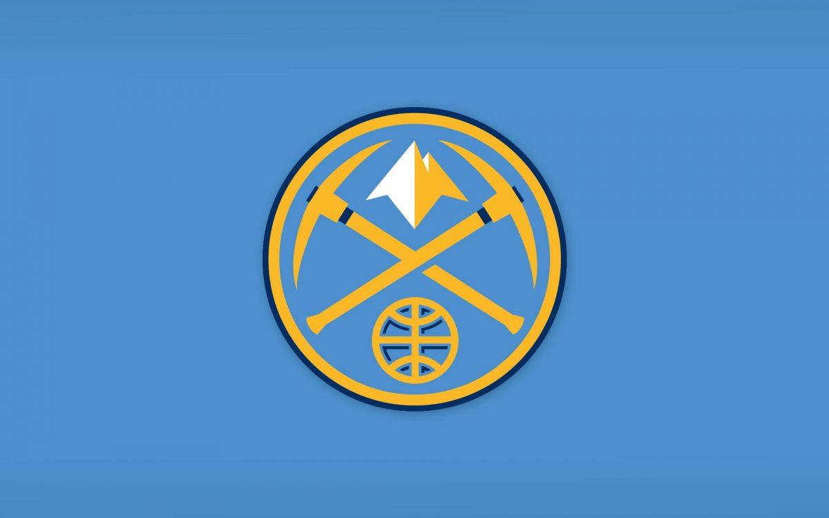 Il logo dei Nuggets