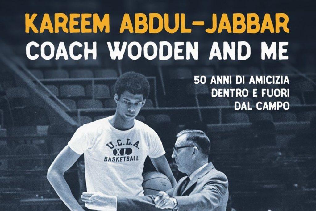 Copertina Libro Coach Wooden and me di Kareem Abdul-Jabbar