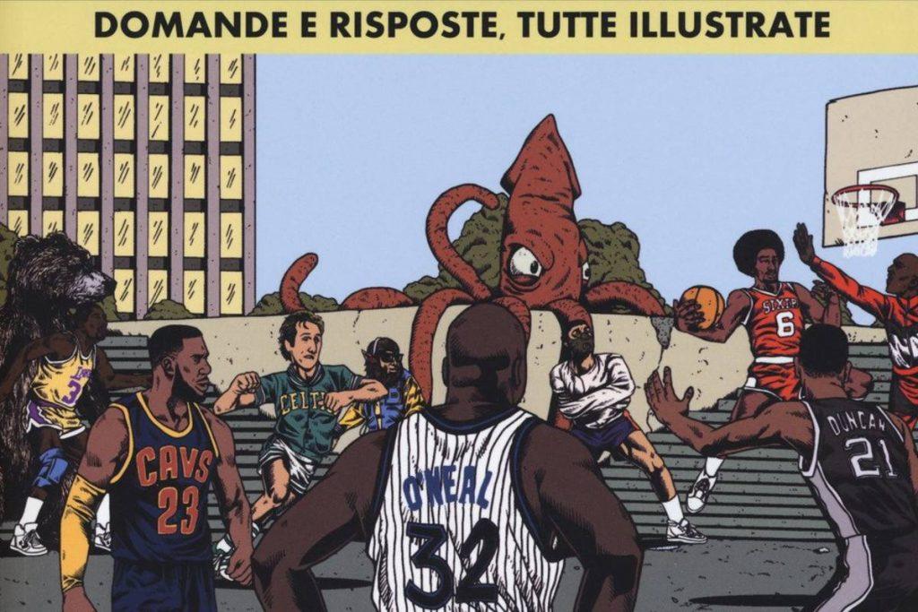Copertina libro Basket (e altre storie). Domande e risposte di Shea Serrano