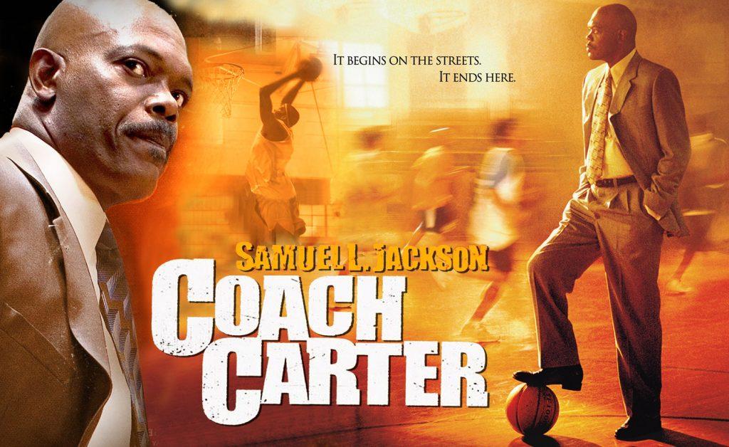 Coach Carter locandina film basket