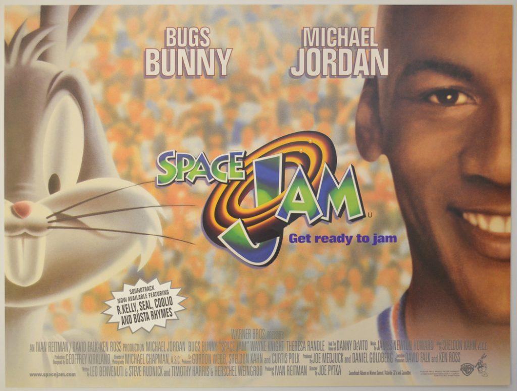 Space Jam locandina film basket