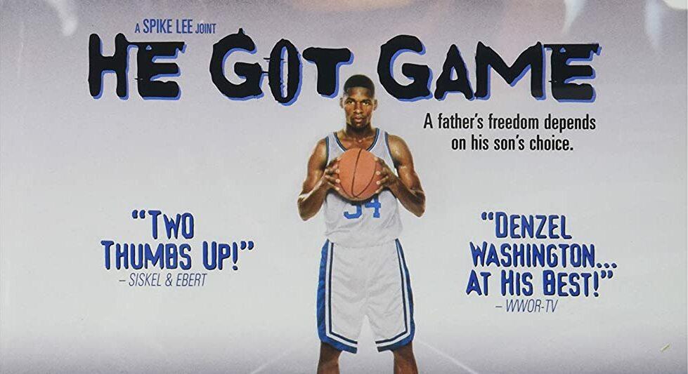 He Got Game locandina film basket